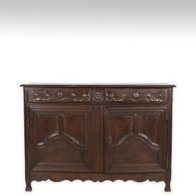 Antique Oak English Sideboard