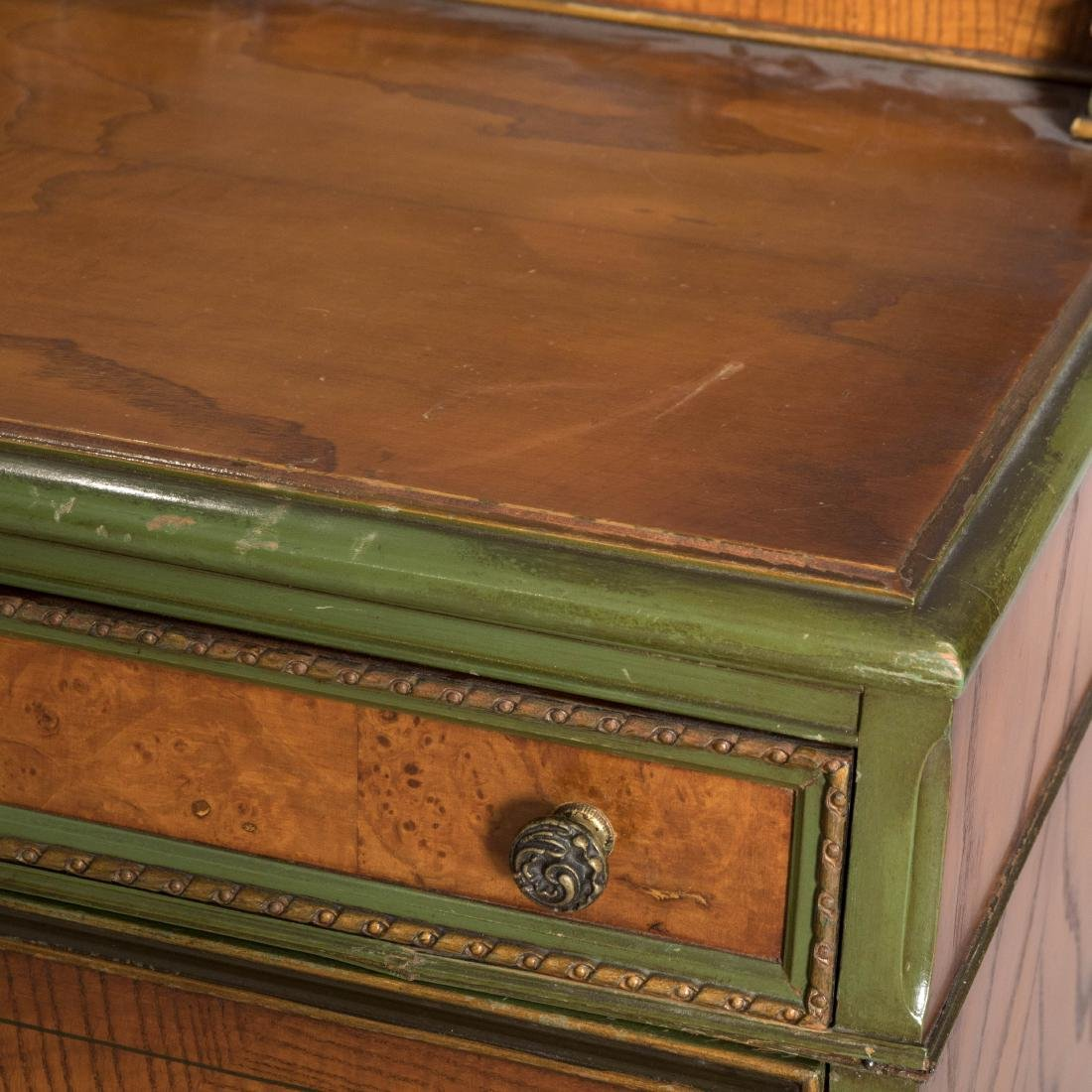 Bombay Chest with Secretary Desk - 3