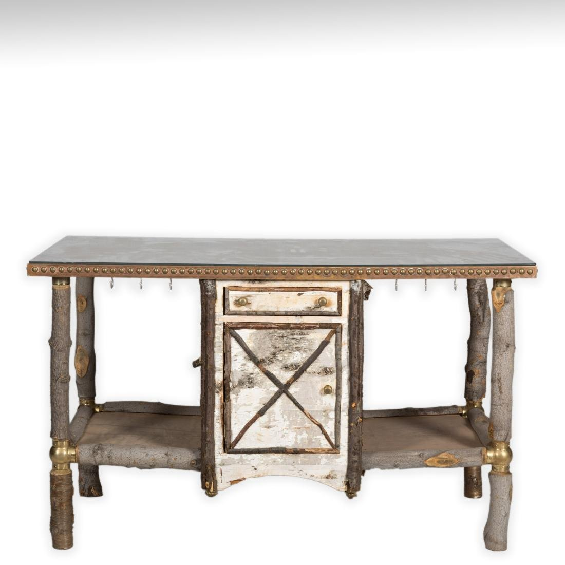 Mackenzie Childs Furniture Kitchen Island