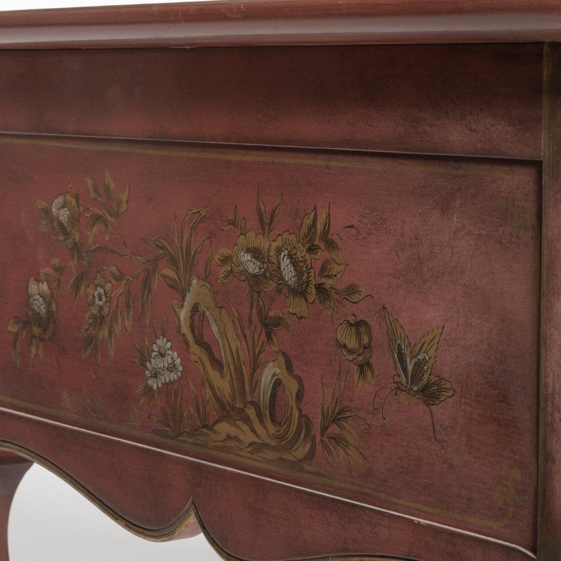 Baker Leather Top Executive Desk - Signed - 4