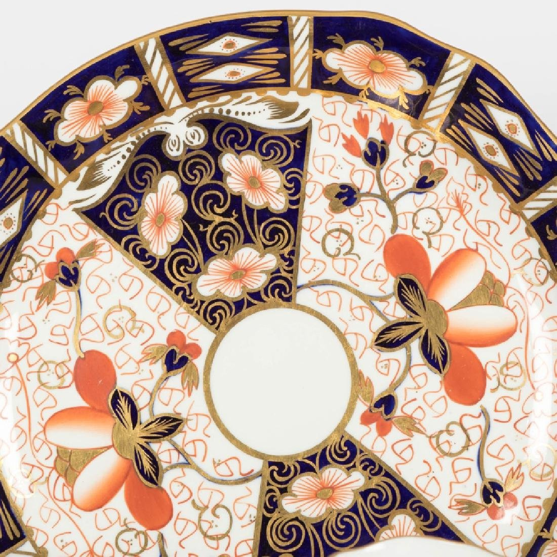 54 Piece Royal Crown Derby Old Imari Luncheon Set - 4