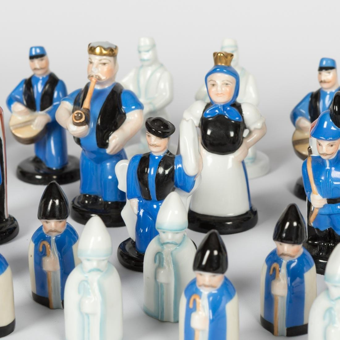 Herend Chess Set - 30 Piece - 2