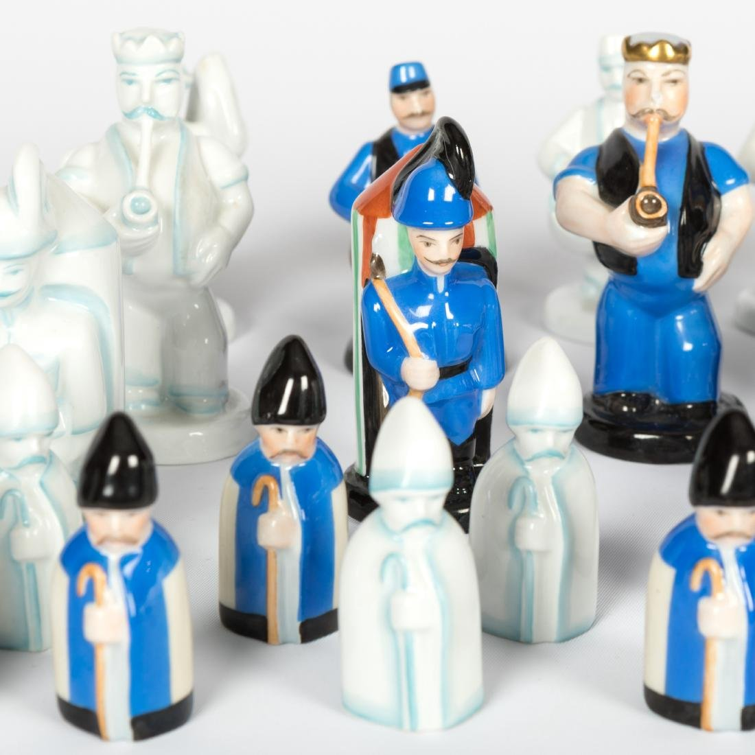 Herend Chess Set - 30 Piece - 3