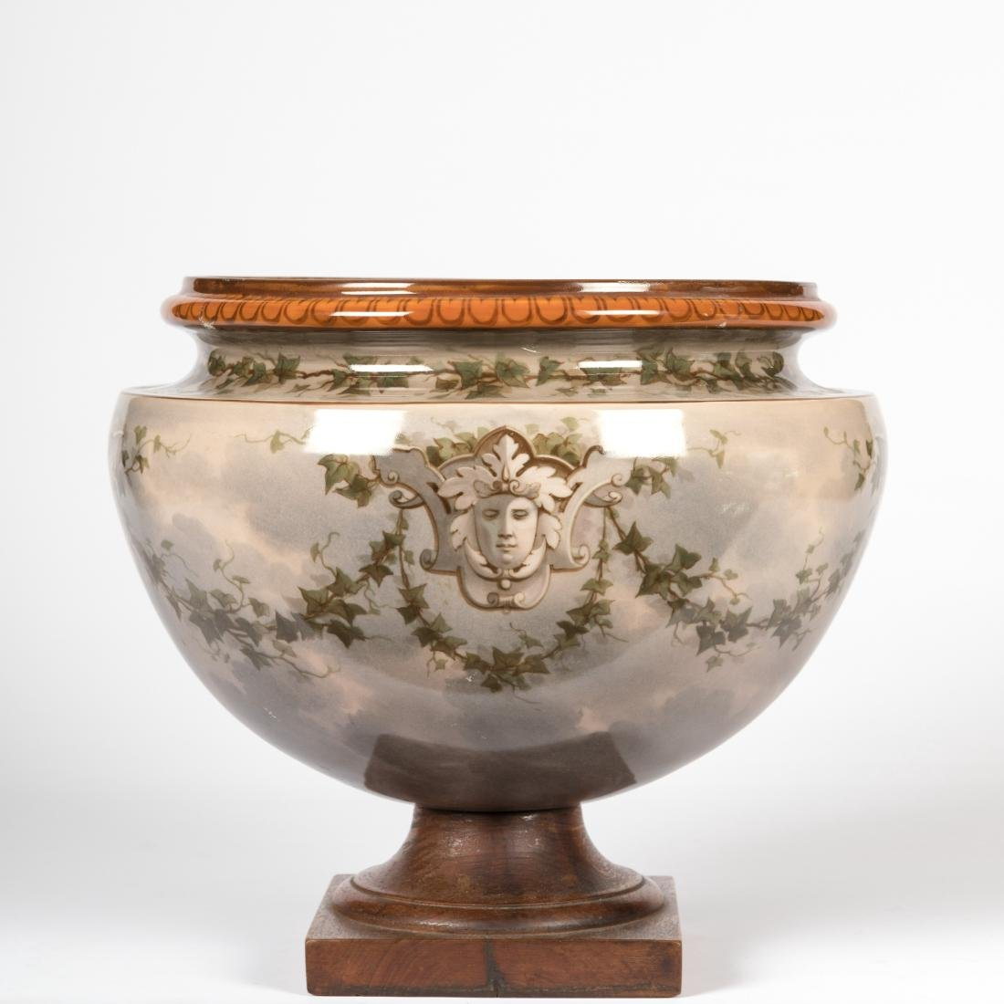 Continental Porcelain Jardiniere