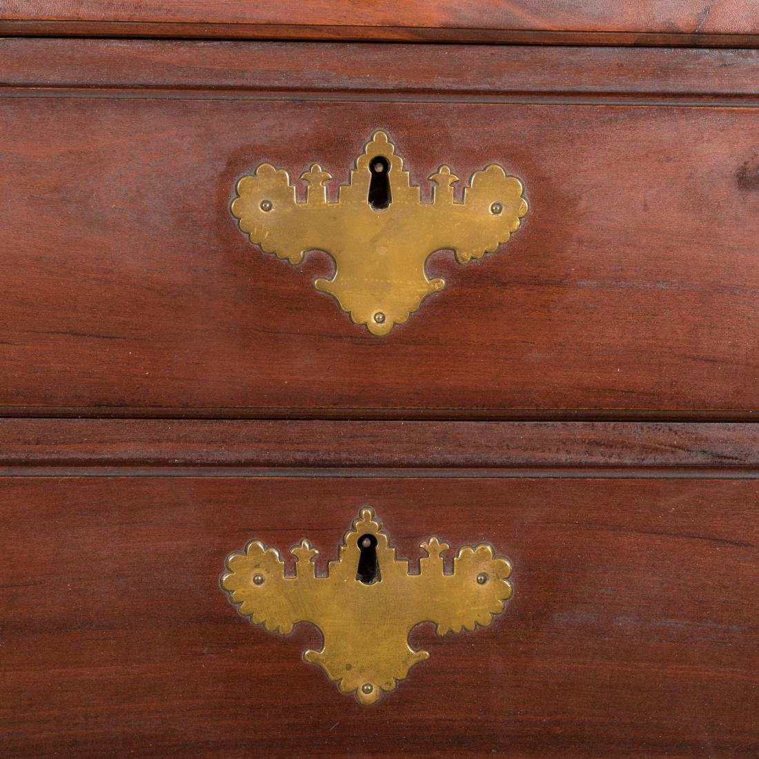 Antique Mahogany Blockfront Chest - Providence - c.1780 - 7