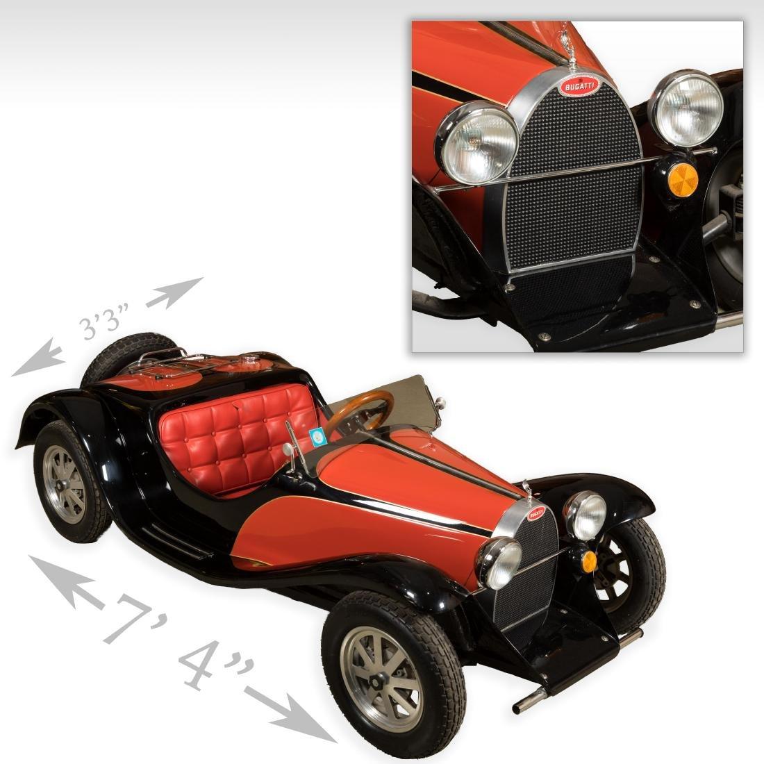 Bugatti Child's Car - Gas Powered