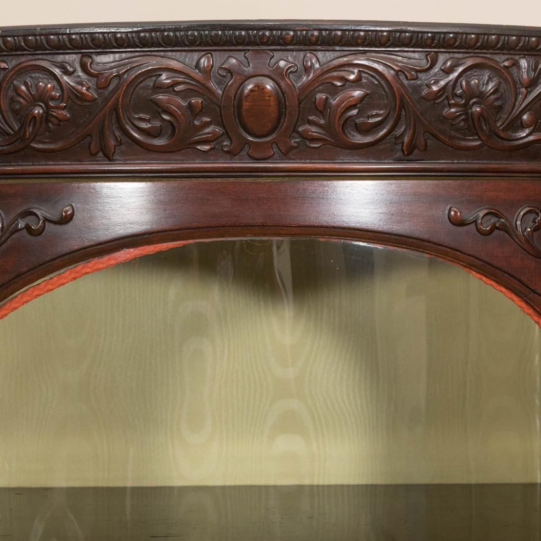 Three Section Carved Horner Bookcase - 2