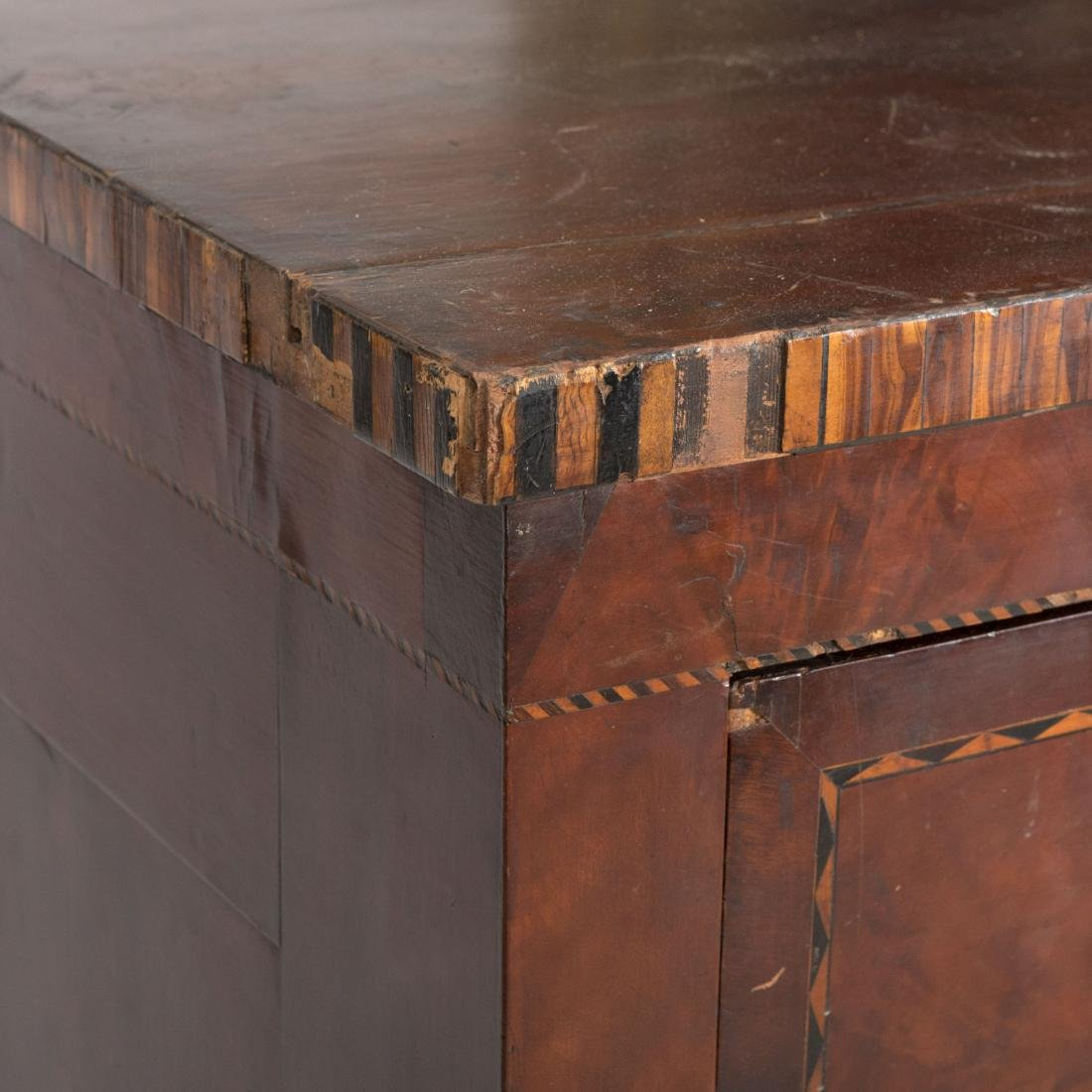 Inlaid Empire Butlers Desk - 2