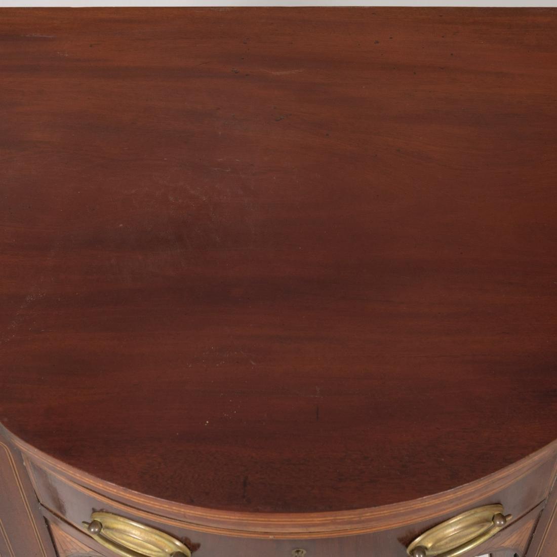 Inlaid Georgian Style Diminutive Sideboard - 6