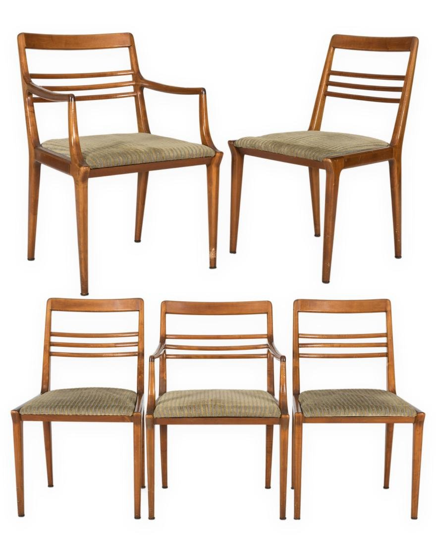 Five Renzo Rutili for Johnson Brothers Chairs