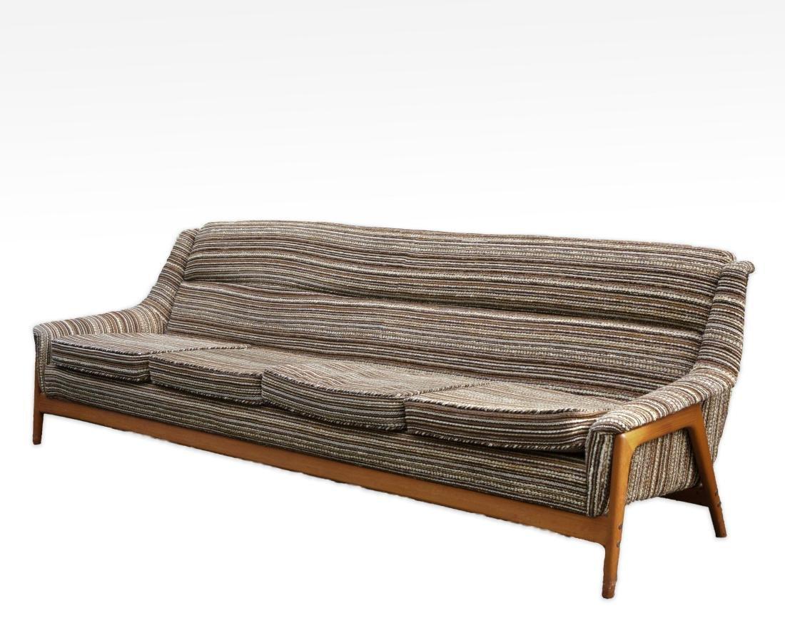 Folke Ohlsson for Dux Teak Sofa
