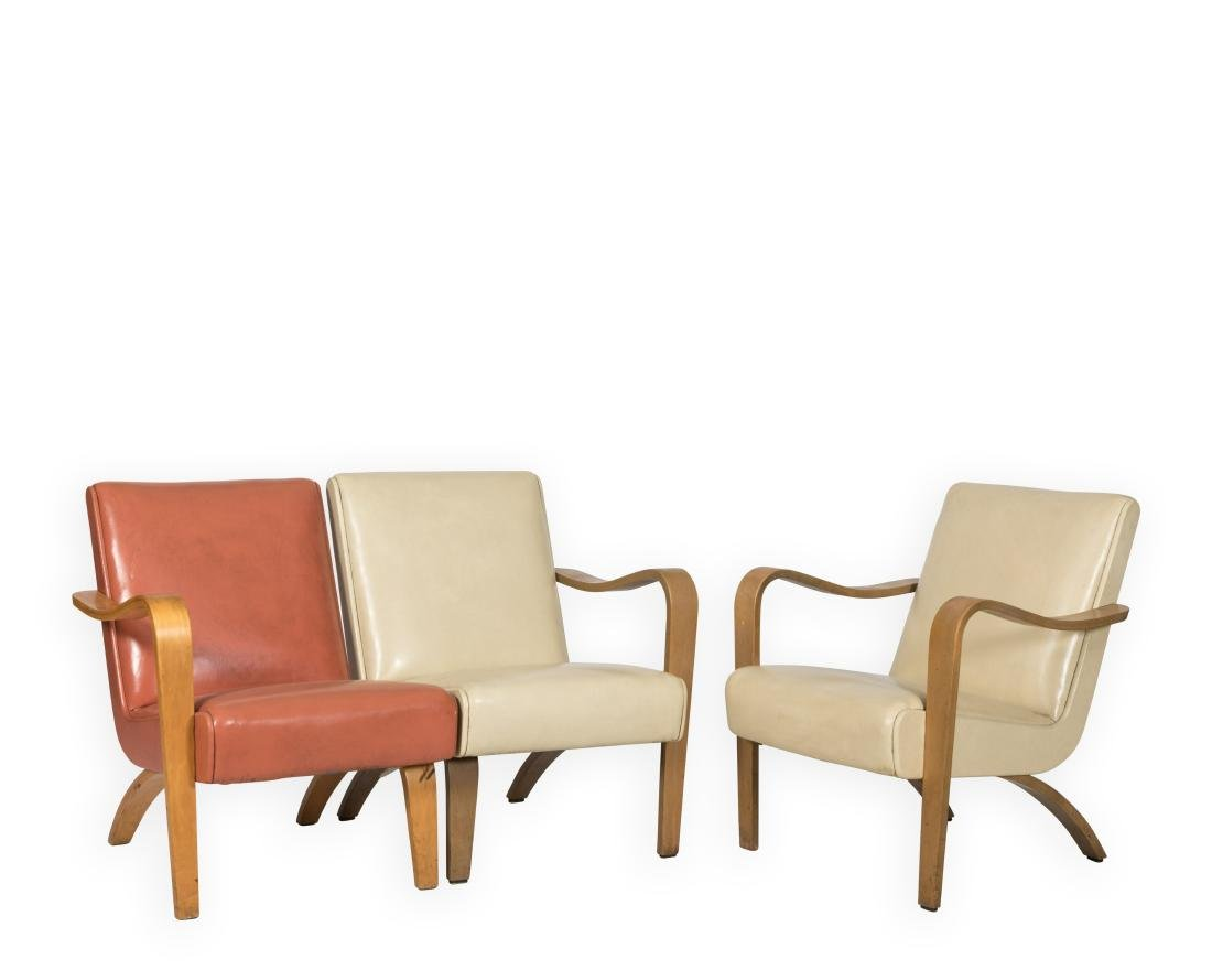 Thonet Arm Chair and Loveseat