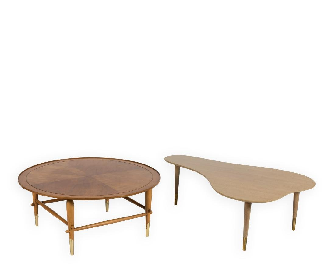 Lane Coffee Table and Kidney Shaped Table
