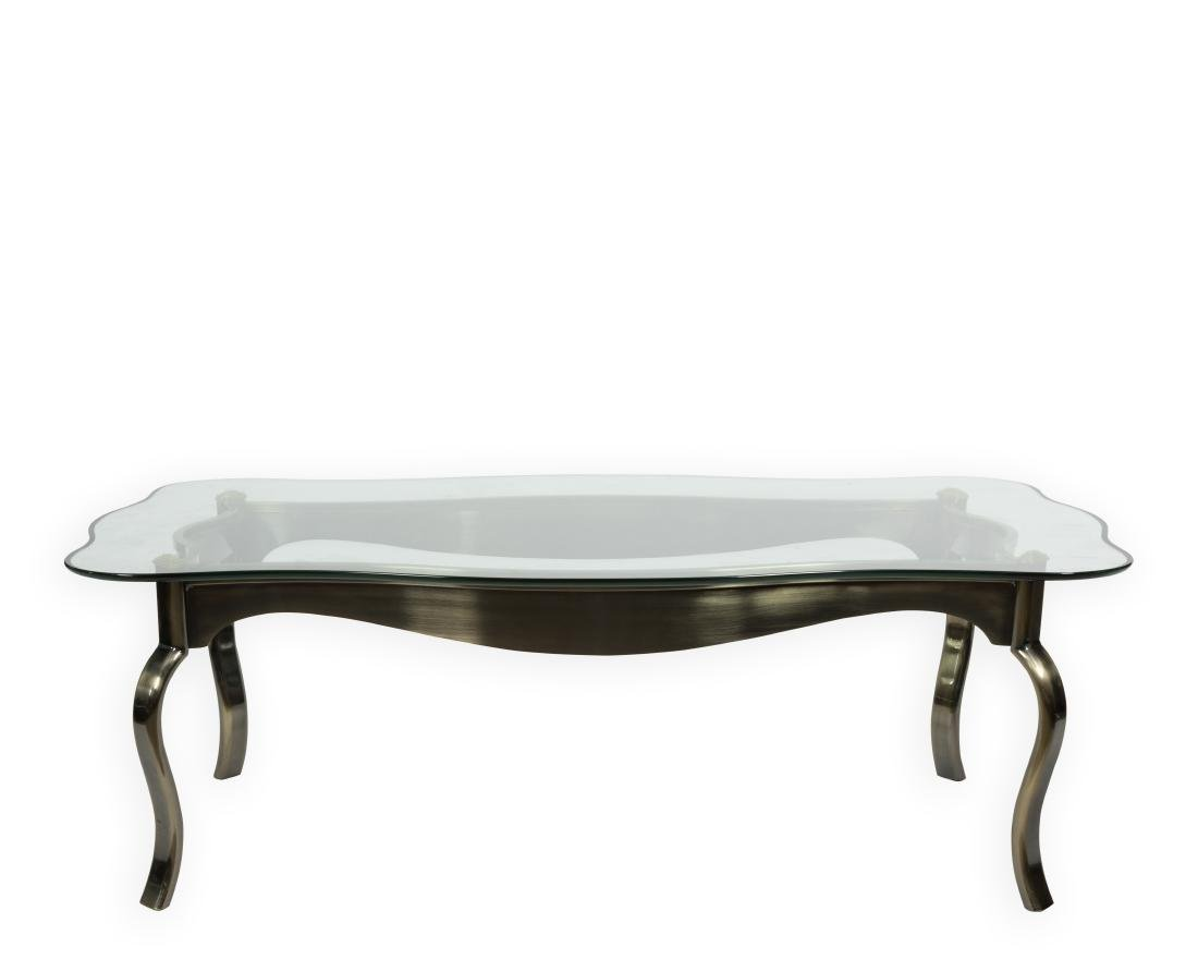 DIA Gunmetal and Brass Coffee Table