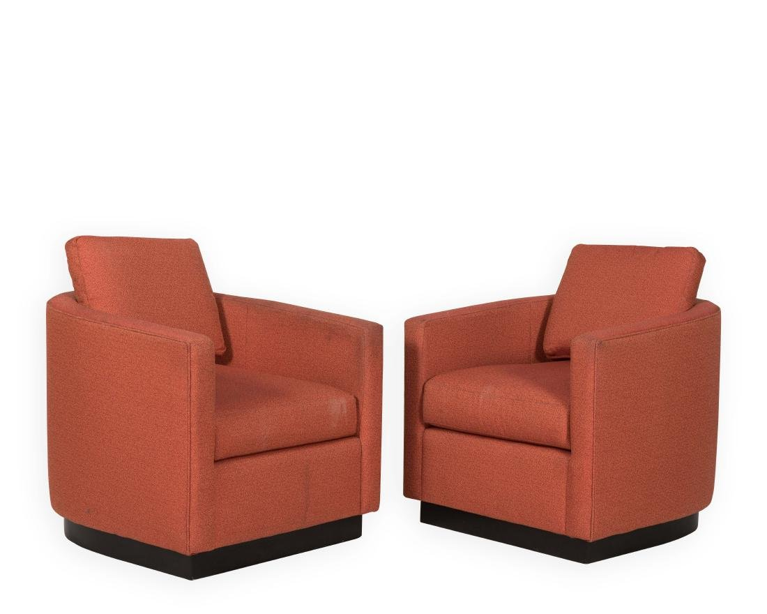 Pair Maurice Villency Club Chairs