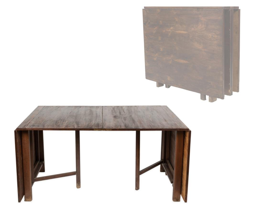 "Rosewood Bruno Mathsson ""Maria"" Dining Table"