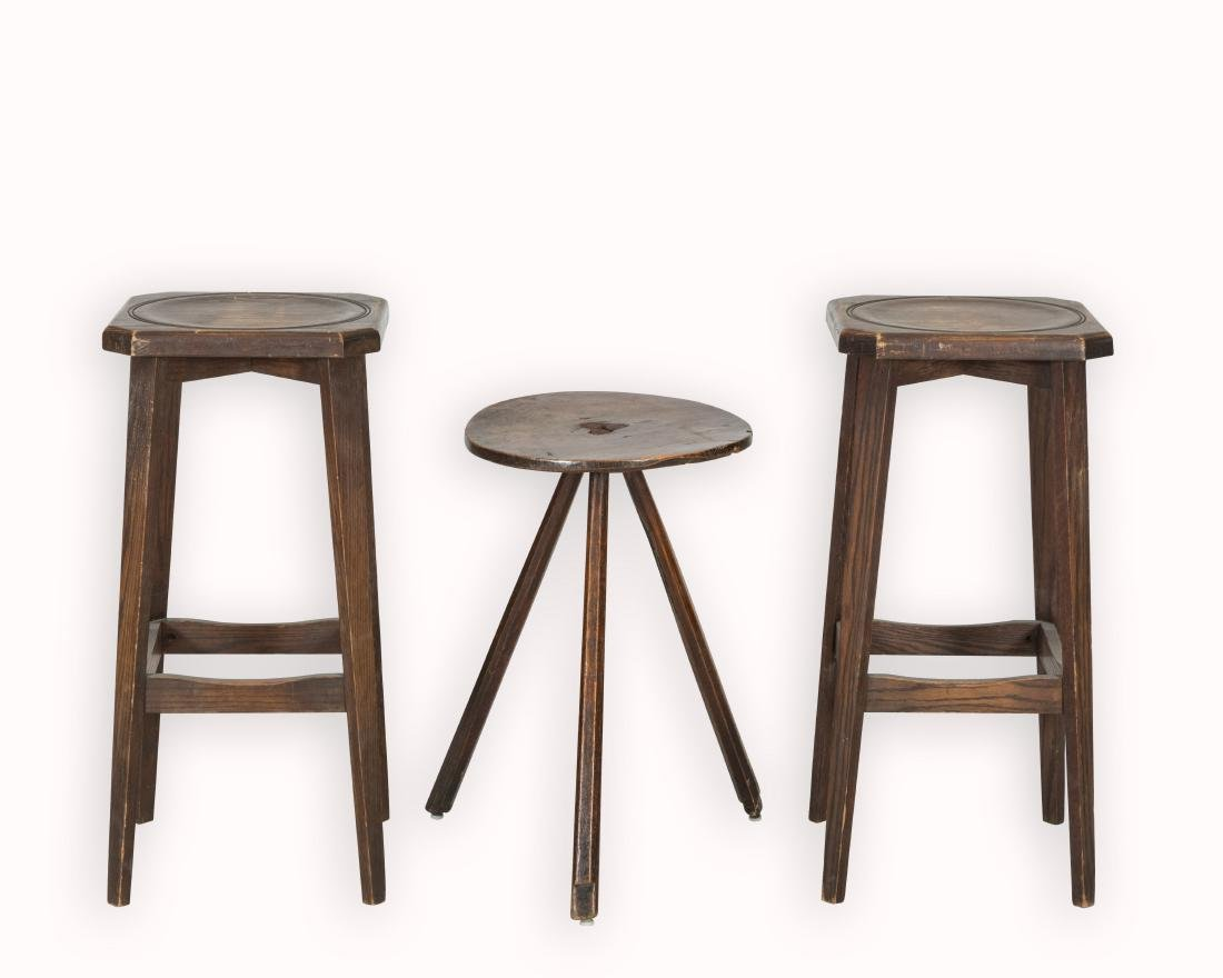 Three Primitive Stools