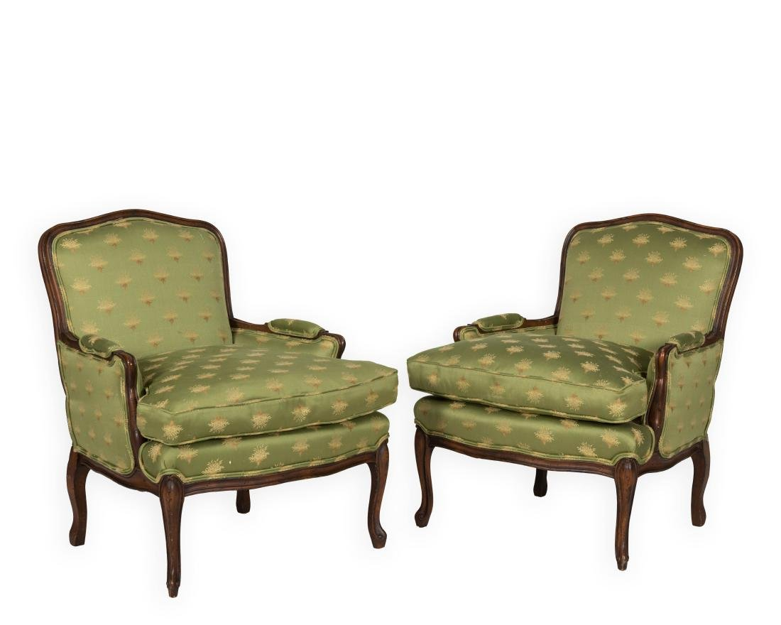 Pair French Parlor Chairs