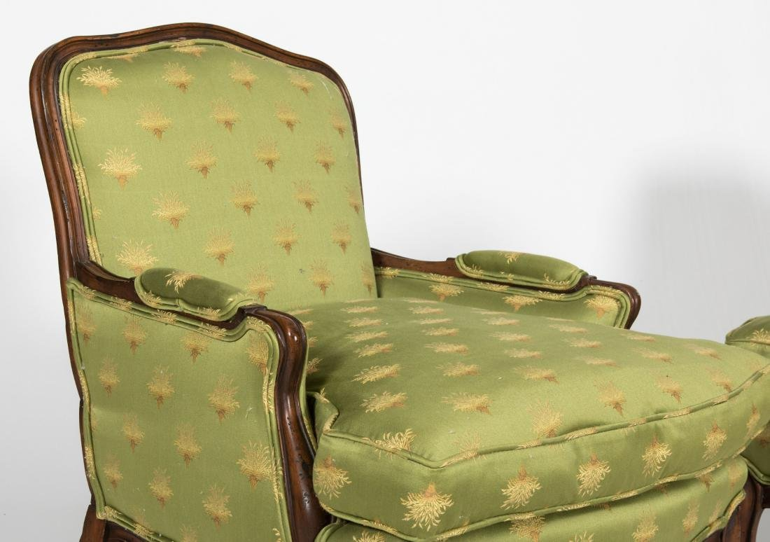 Pair French Parlor Chairs - 2