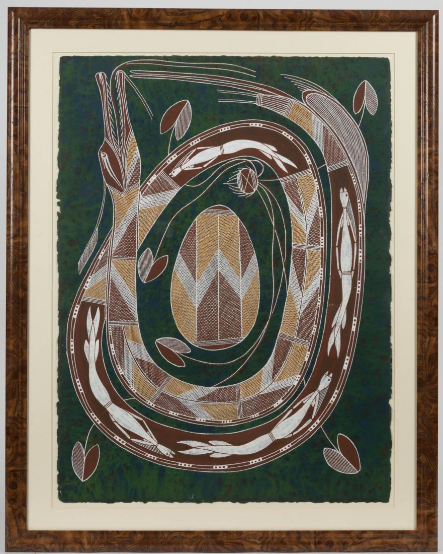 Large Aboriginal Painting - Roderick Maralnaurra
