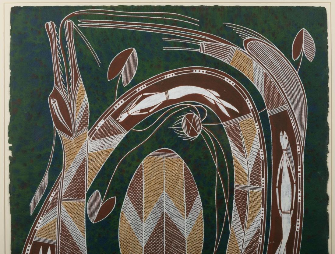 Large Aboriginal Painting - Roderick Maralnaurra - 2
