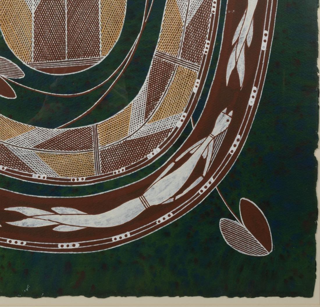 Large Aboriginal Painting - Roderick Maralnaurra - 3