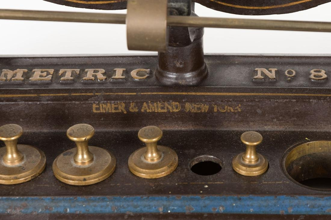 Henry Troemner Metric No. 8 Scale and Weights - 3