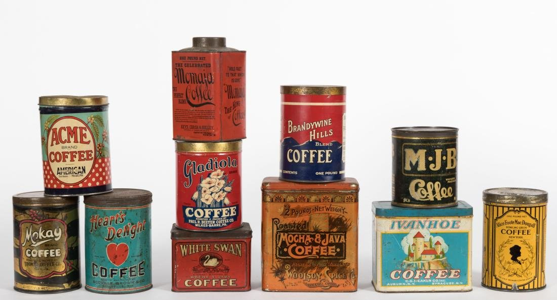 Group Eleven Coffee Tins