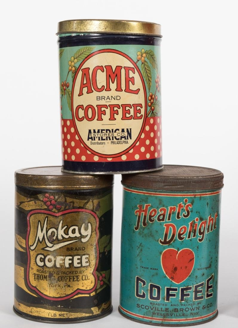 Group Eleven Coffee Tins - 2