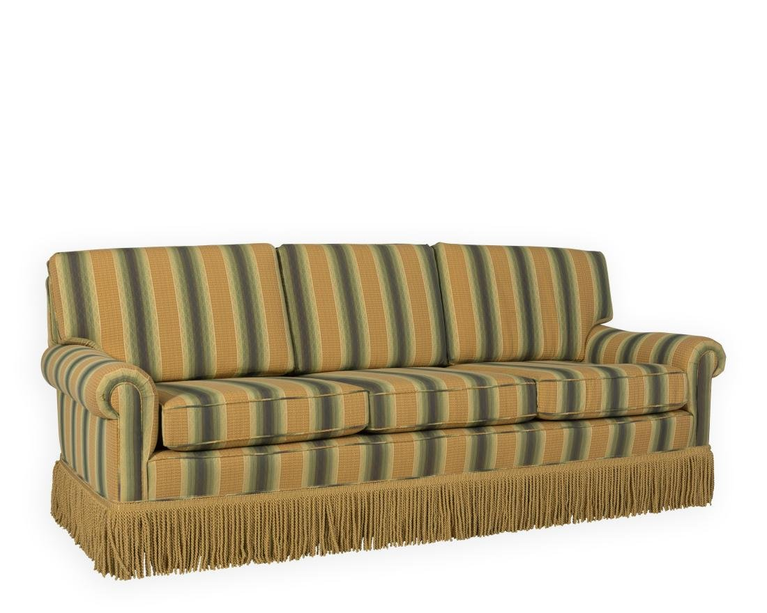Traditional Sofa with Tassels