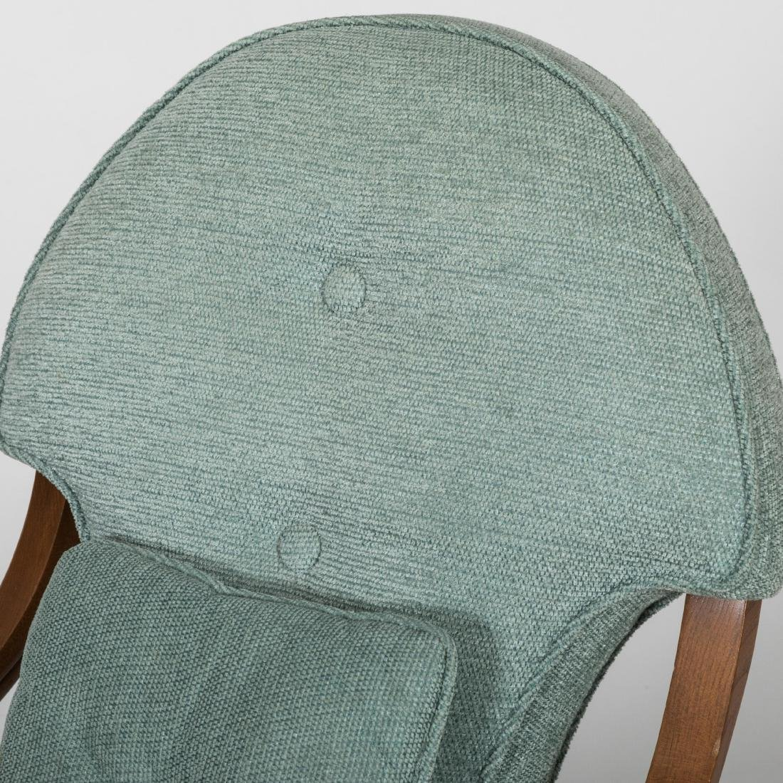 Pair Rolled Arm Chairs - 3