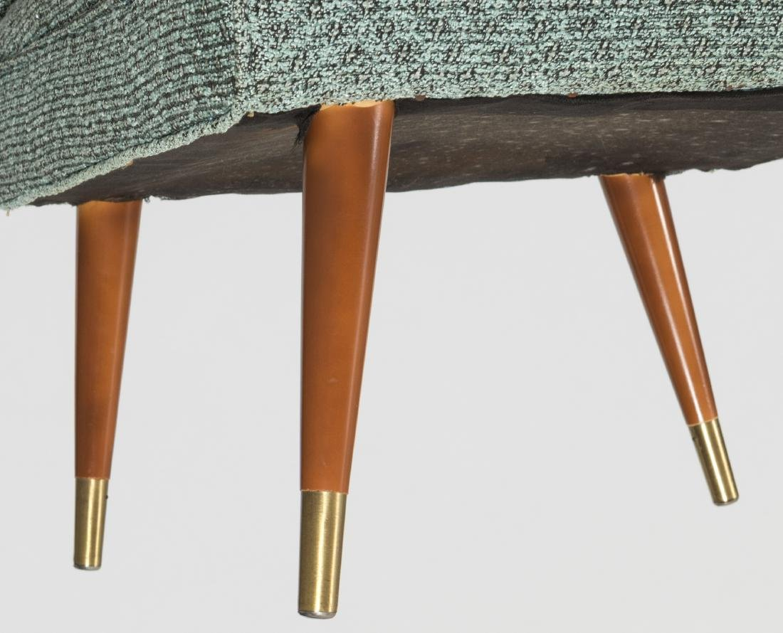 Pair Rolled Arm Chairs - 4