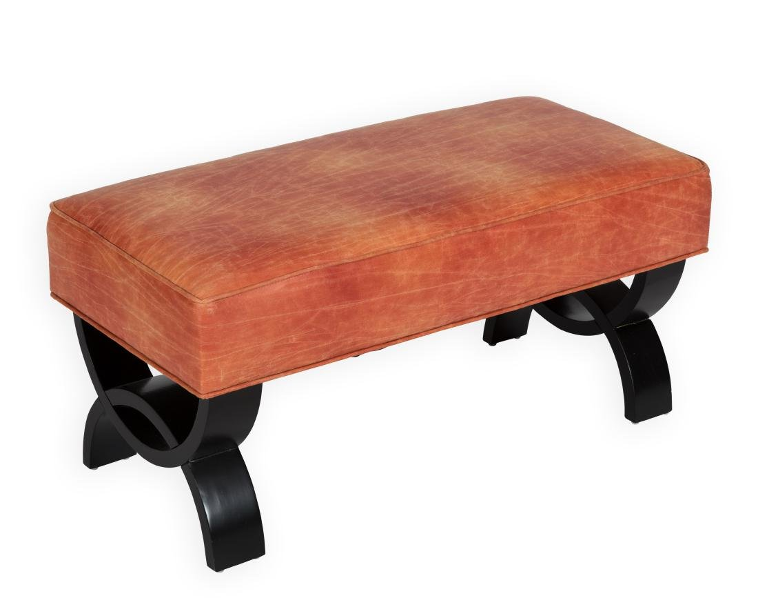 Petite Leather Bench