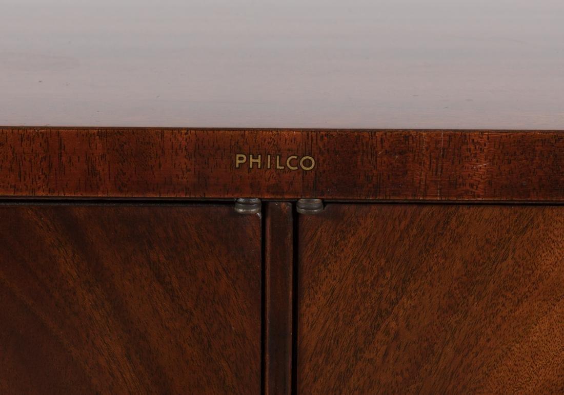 Philco Mahogany TV/Radio/Turn Table - 2