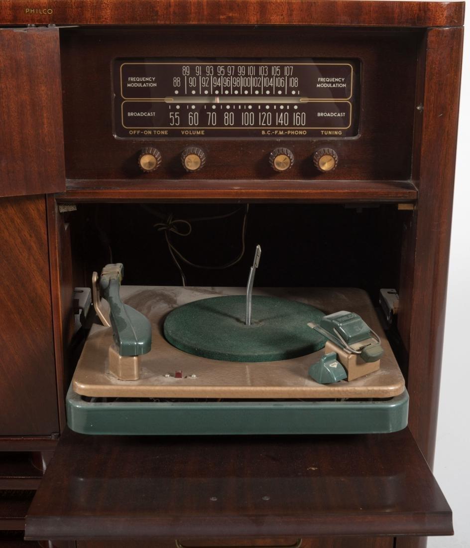 Philco Mahogany TV/Radio/Turn Table - 3