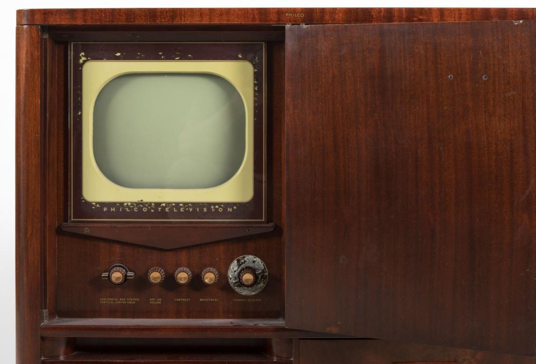 Philco Mahogany TV/Radio/Turn Table - 4