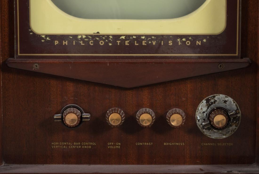 Philco Mahogany TV/Radio/Turn Table - 5