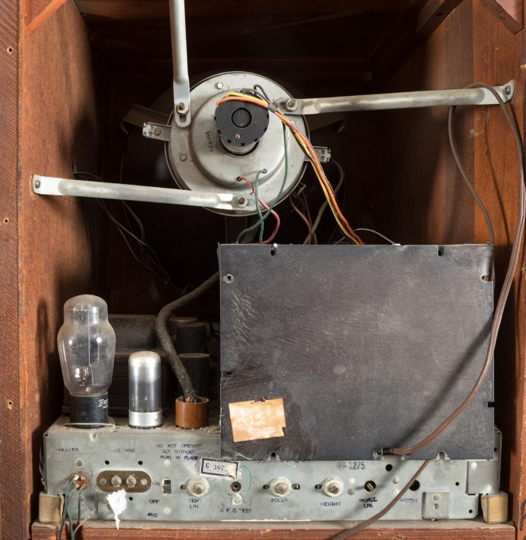 Philco Mahogany TV/Radio/Turn Table - 7