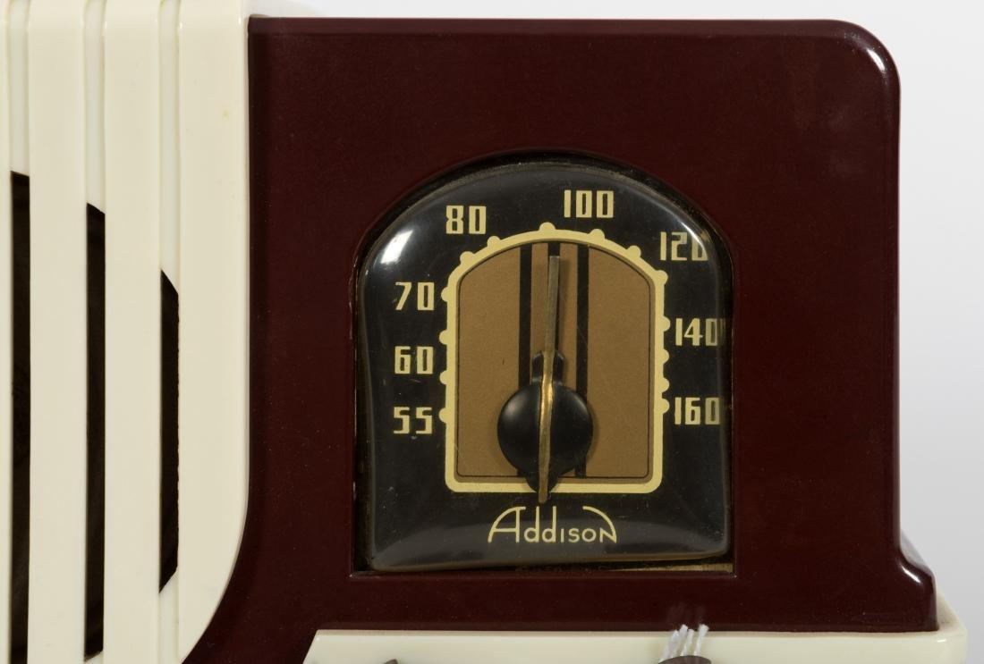 Addison Bakelite Tube Radio - 2