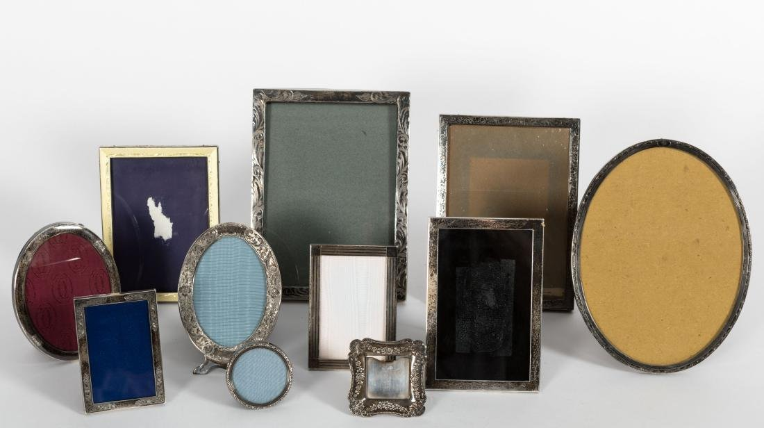 Group Sterling Picture Frames