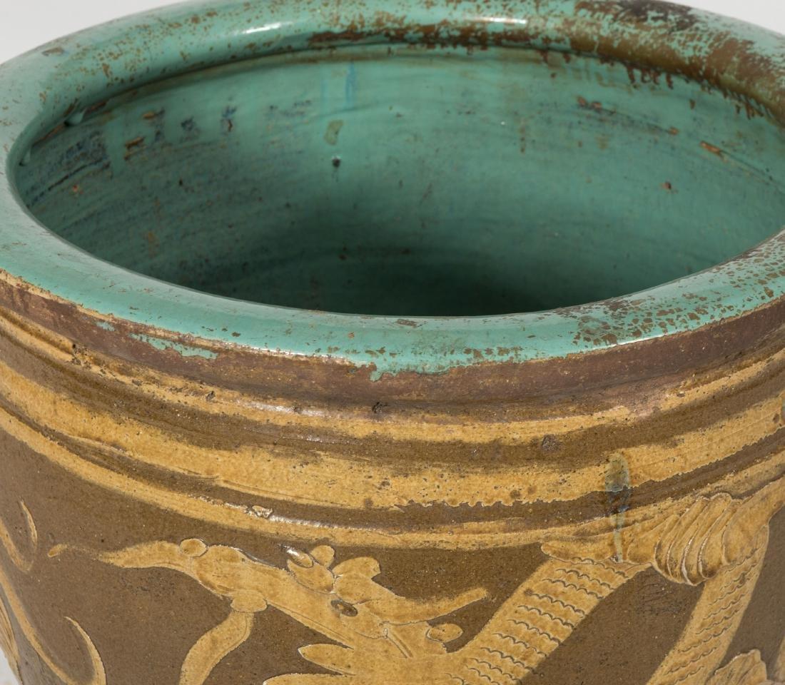 Pair Chinese Fish Bowls - 2