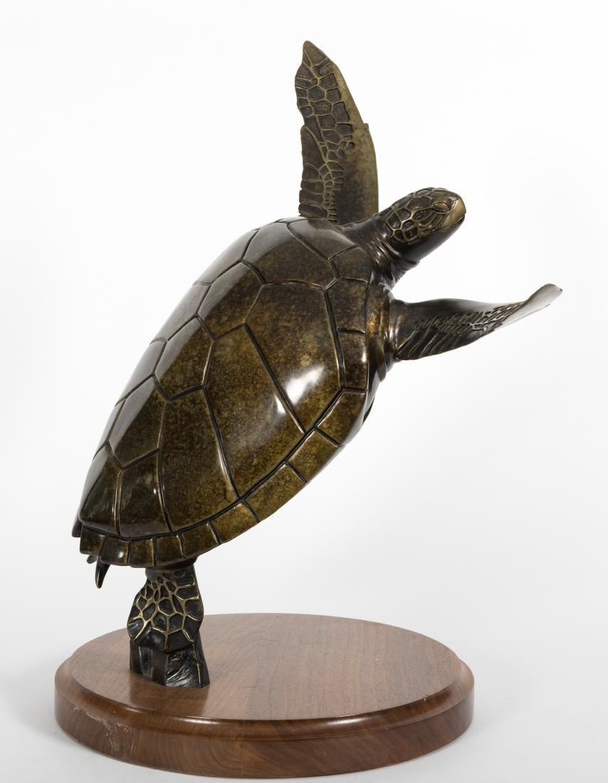 """Kirk McGuire - Bronze Turtle - """"Voyager"""" - 11/75"""