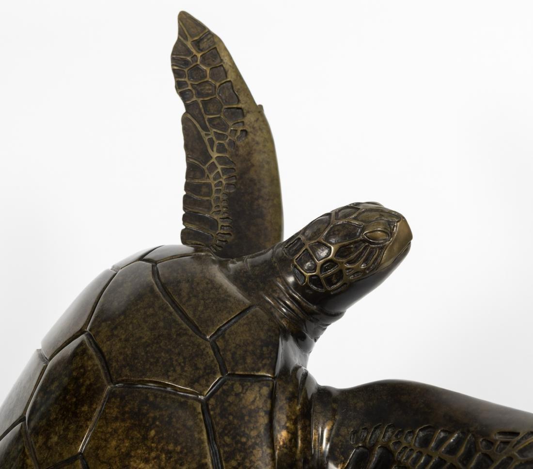 """Kirk McGuire - Bronze Turtle - """"Voyager"""" - 11/75 - 2"""