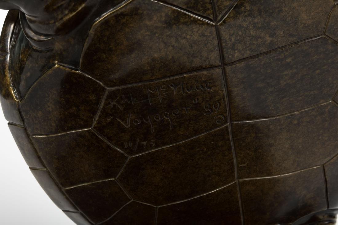 """Kirk McGuire - Bronze Turtle - """"Voyager"""" - 11/75 - 3"""