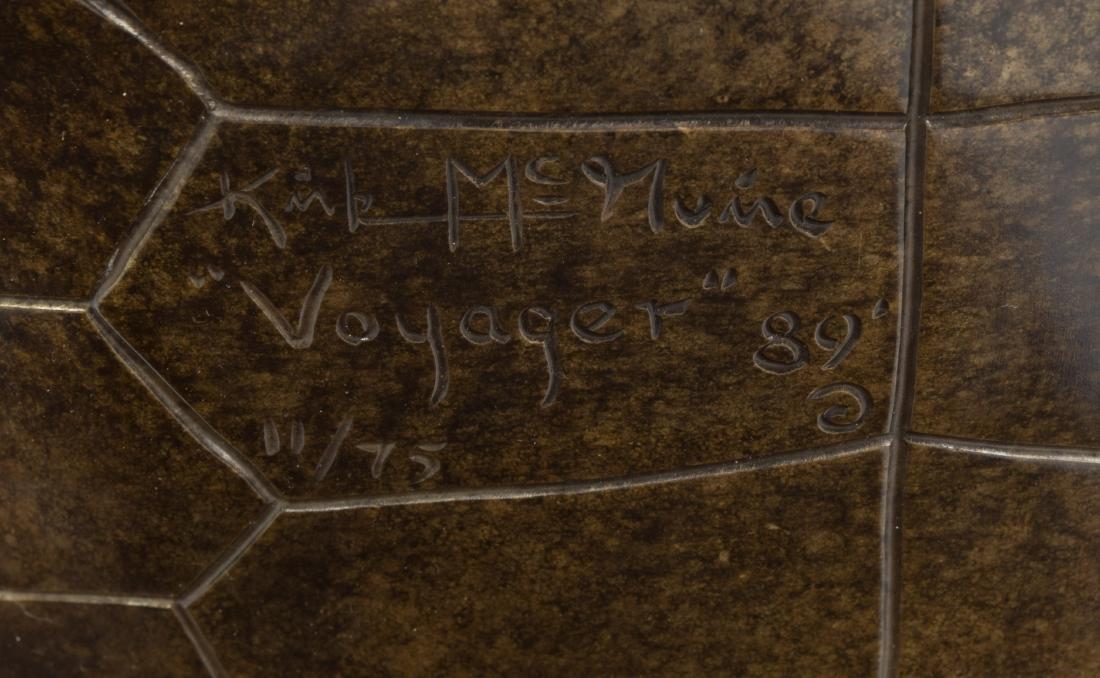 """Kirk McGuire - Bronze Turtle - """"Voyager"""" - 11/75 - 4"""