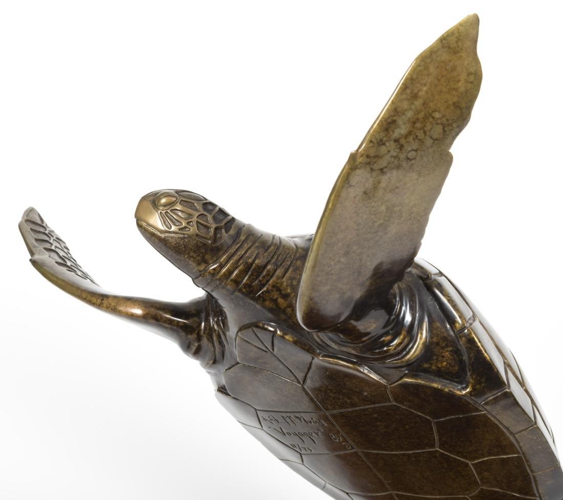 """Kirk McGuire - Bronze Turtle - """"Voyager"""" - 11/75 - 5"""