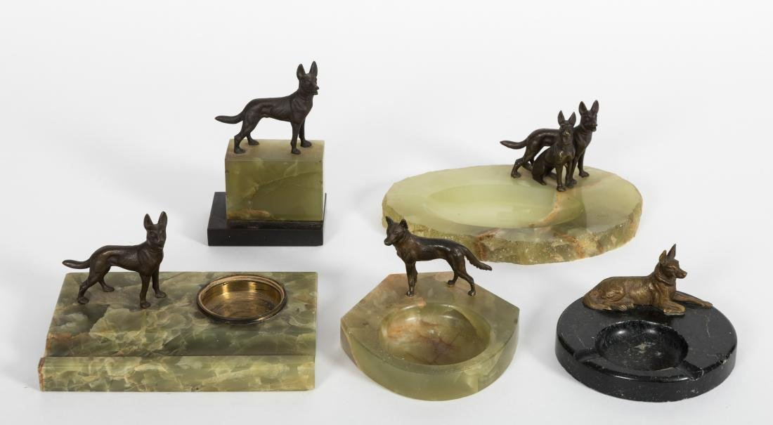 Group Five Canine Ash Trays