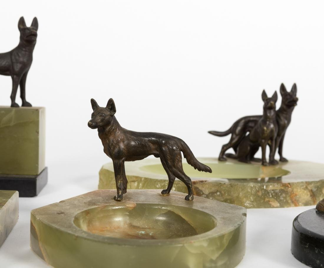 Group Five Canine Ash Trays - 2