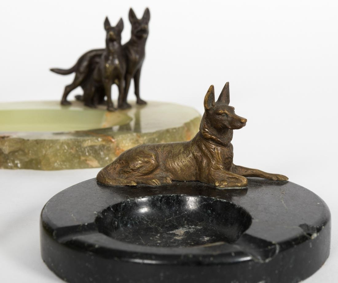 Group Five Canine Ash Trays - 3