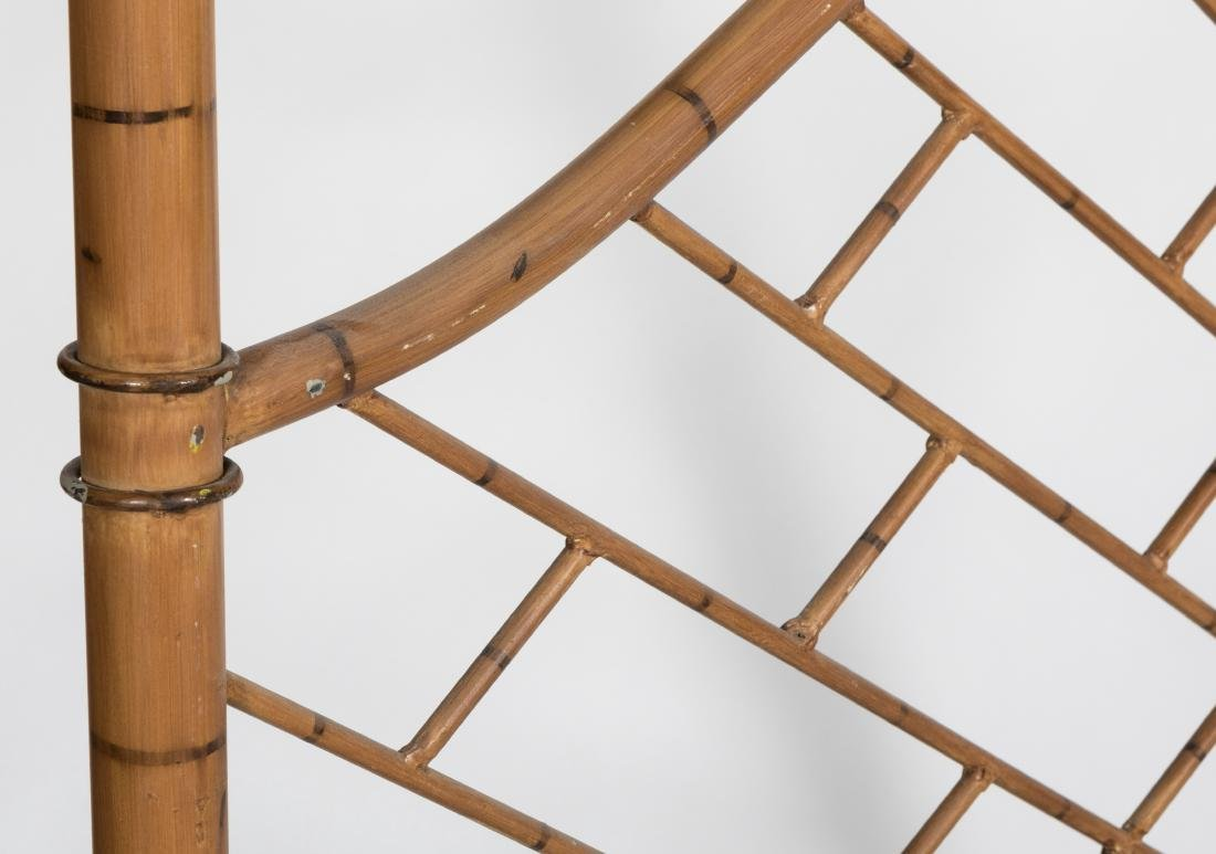 Faux Bamboo Iron Bed - 4